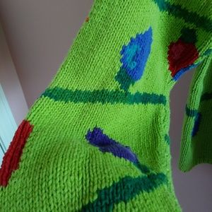 Vintage Sweaters - Vtg 90s Ugly Christmas Sweater M